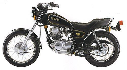 1981 Yamaha SR250