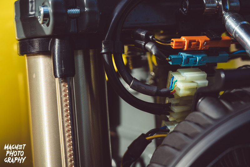 Honda SLR650 Adventure Scrambler