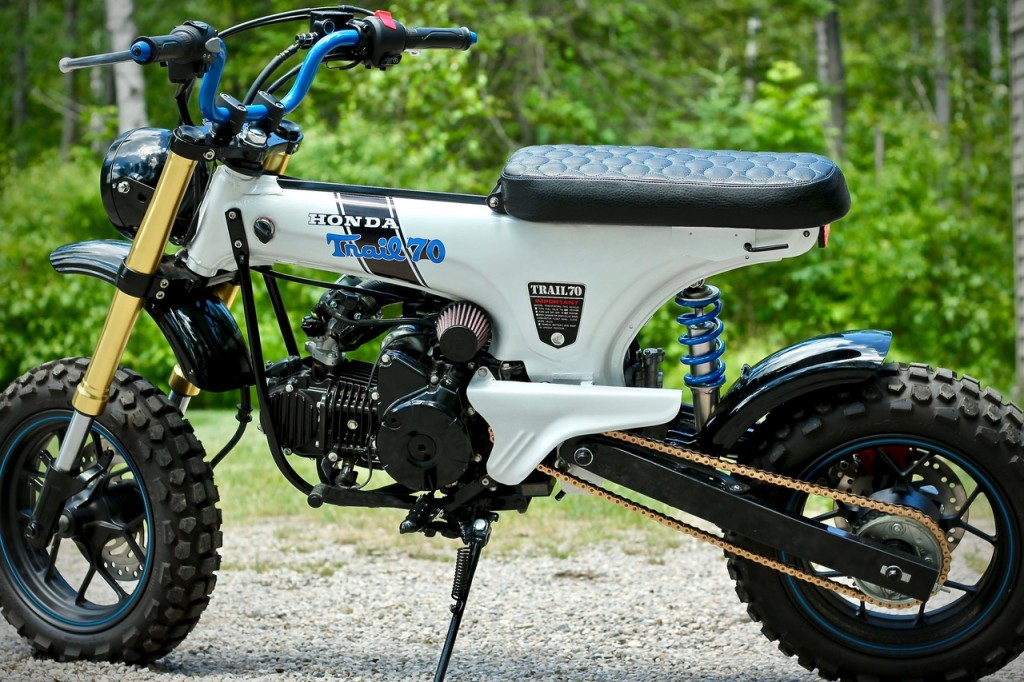 Honda CT70 Scrambler