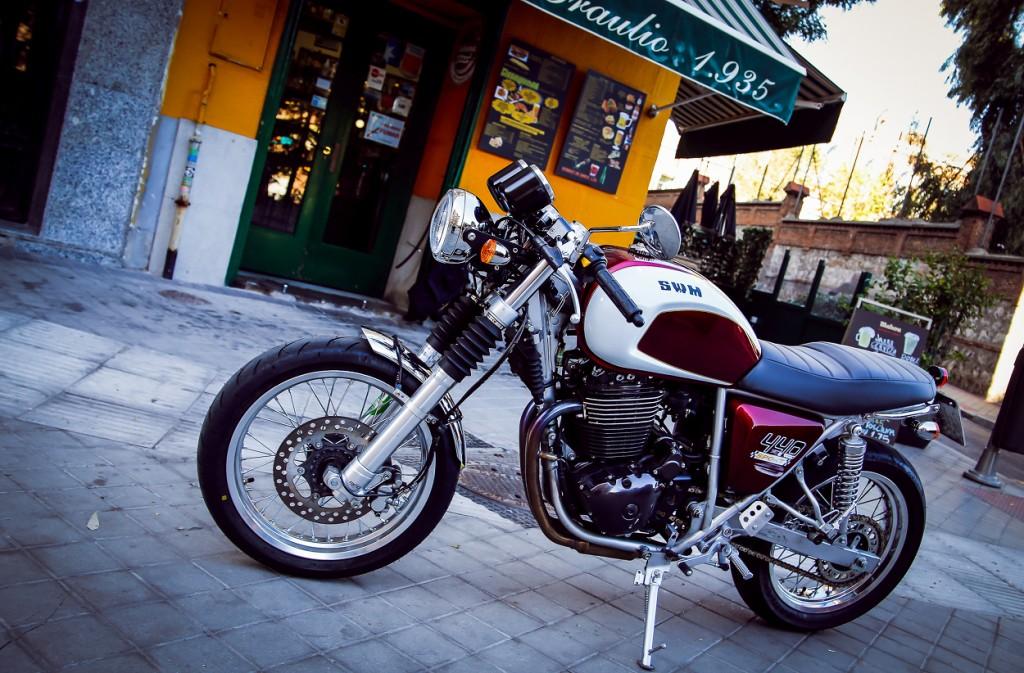 SWM Cafe Racer