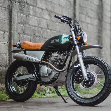 Yamaha 225 Scrambler