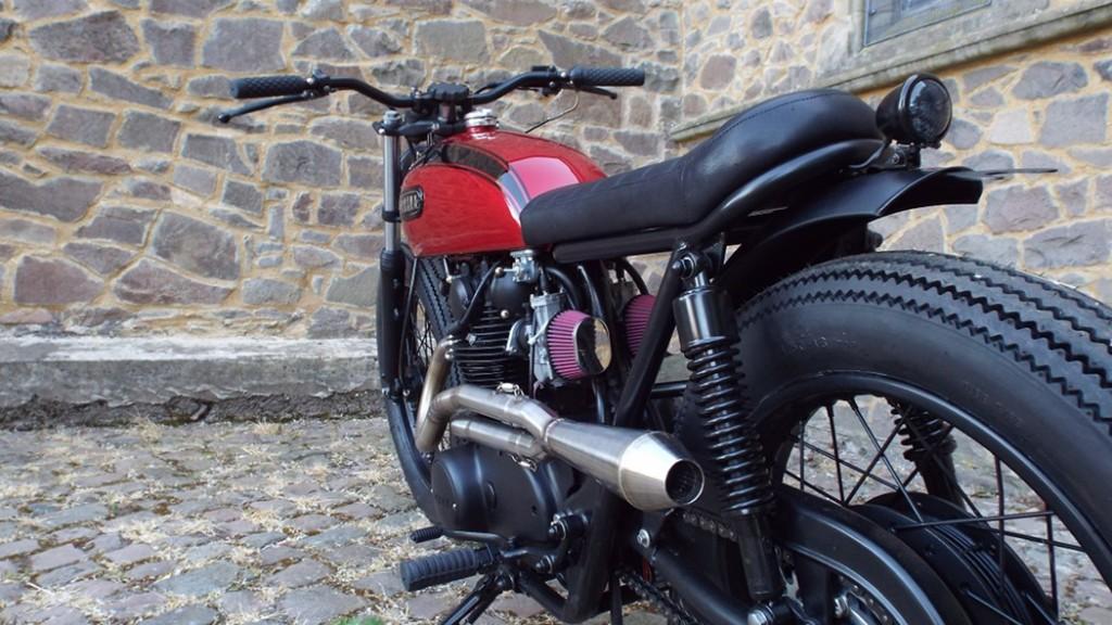 Yamaha TX650 Brat Style