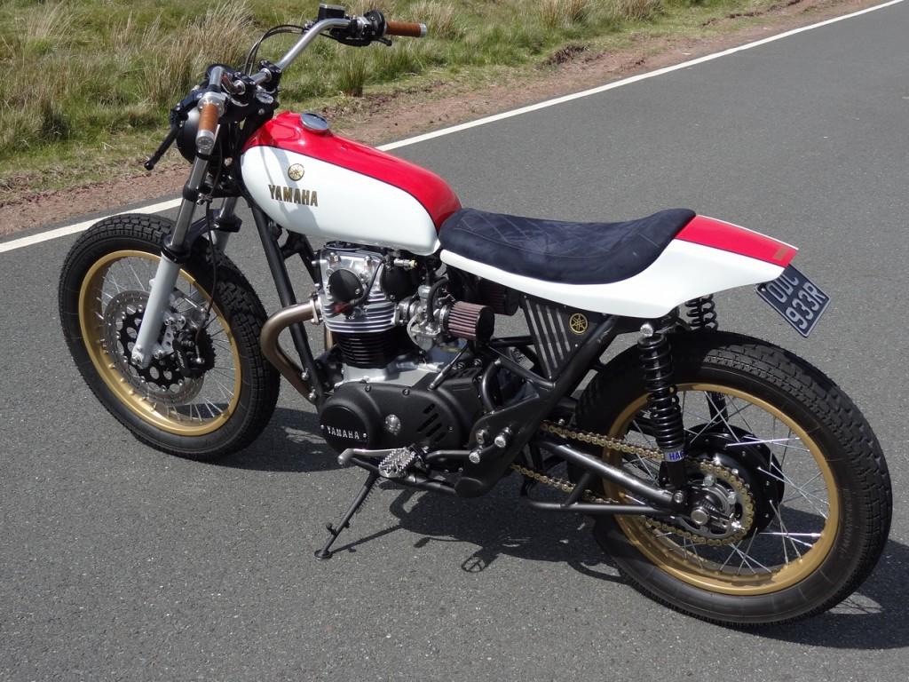 Yamaha XS650 Street Tracker