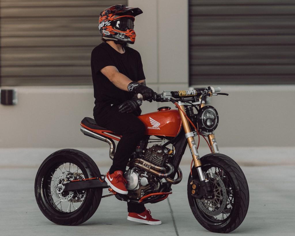 Honda XR400R Supercafe