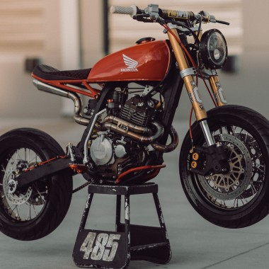 Honda XR400R Supercafe