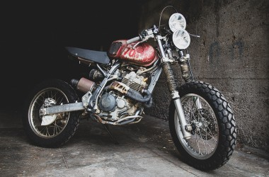 Honda XR400 Rat Bike