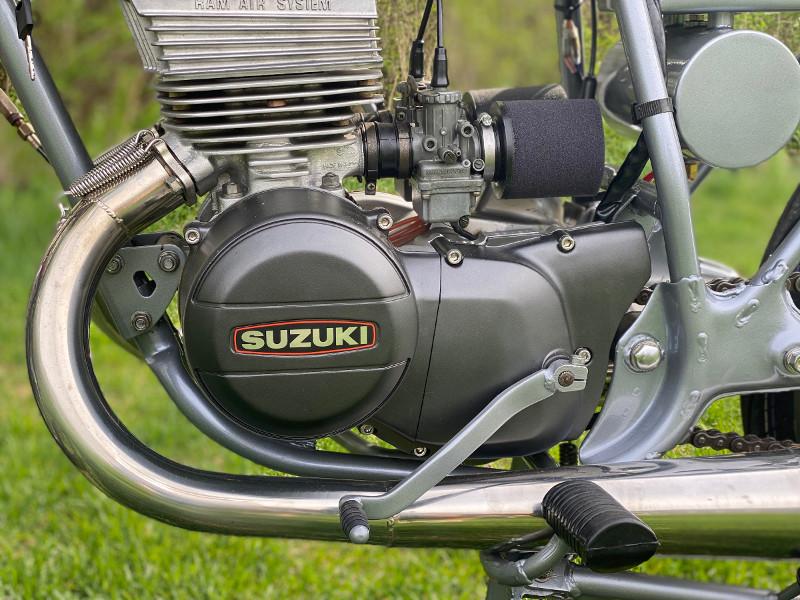 Suzuki GT185 Cafe Racer
