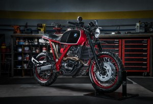 BMW F650 Funduro Custom