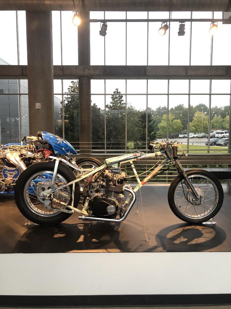 1960s Honda 450 Drag Bike