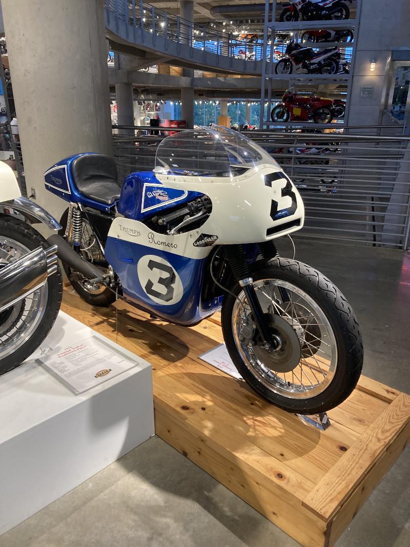 1971 Triumph Trident Production Racer