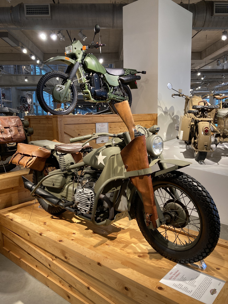 1942 Harley-Davidson XA Military