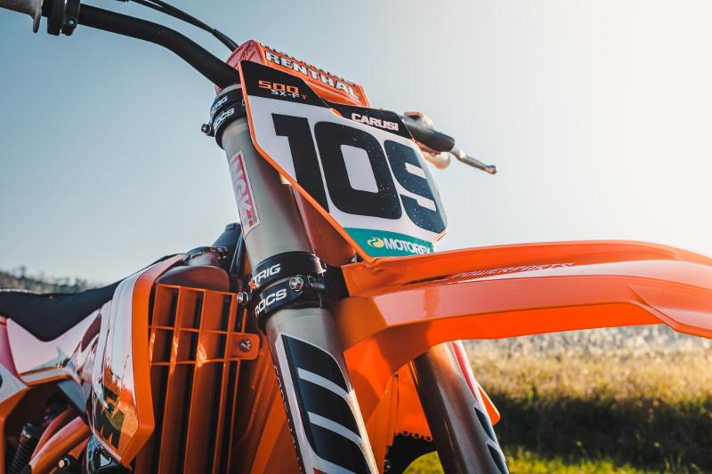 KTM 500 Tracker