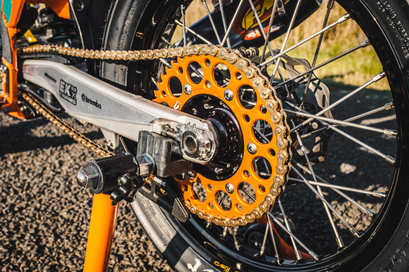 KTM 500 Flat Tracker
