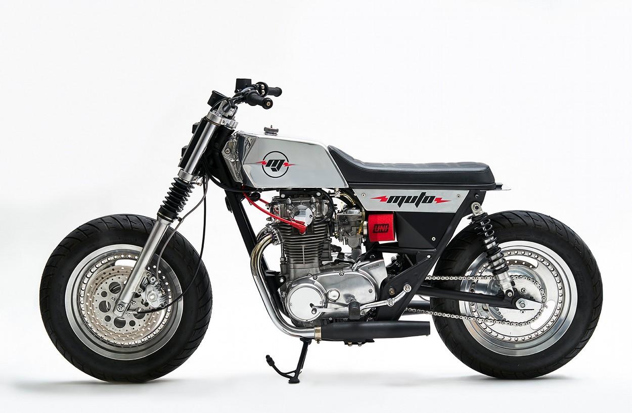 Yamaha XS650 Tracker