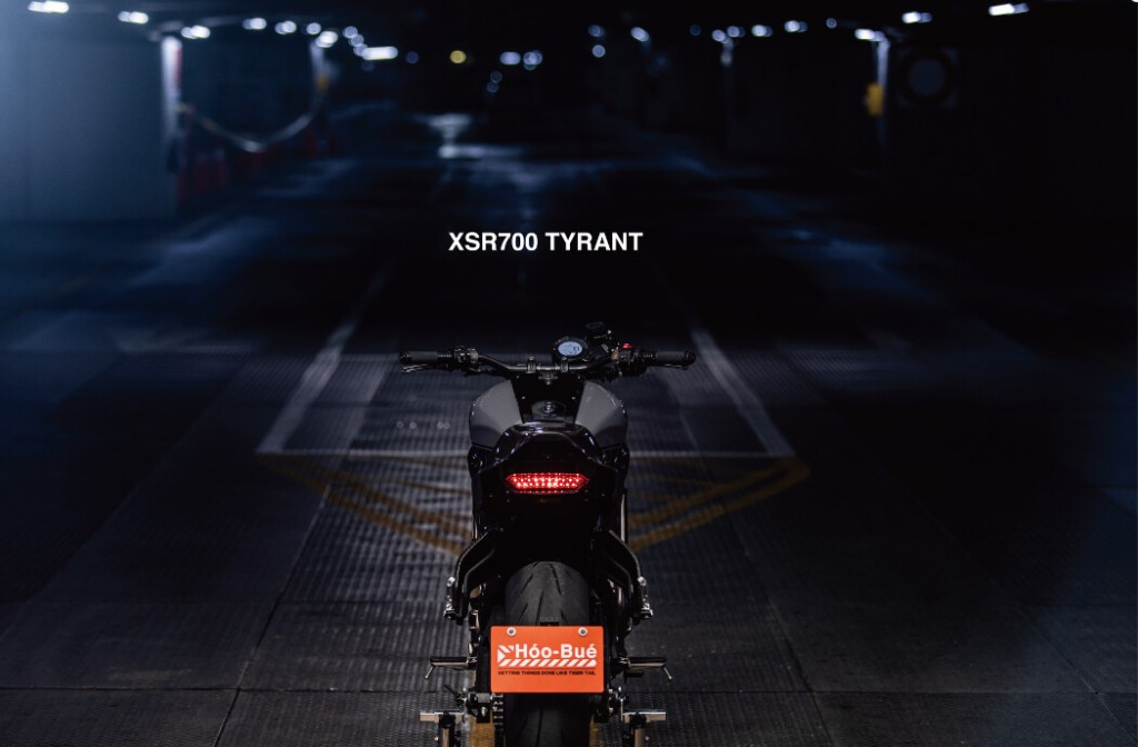 XSR700 Street Tracker