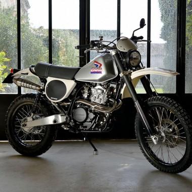 Honda XL600R Restomod