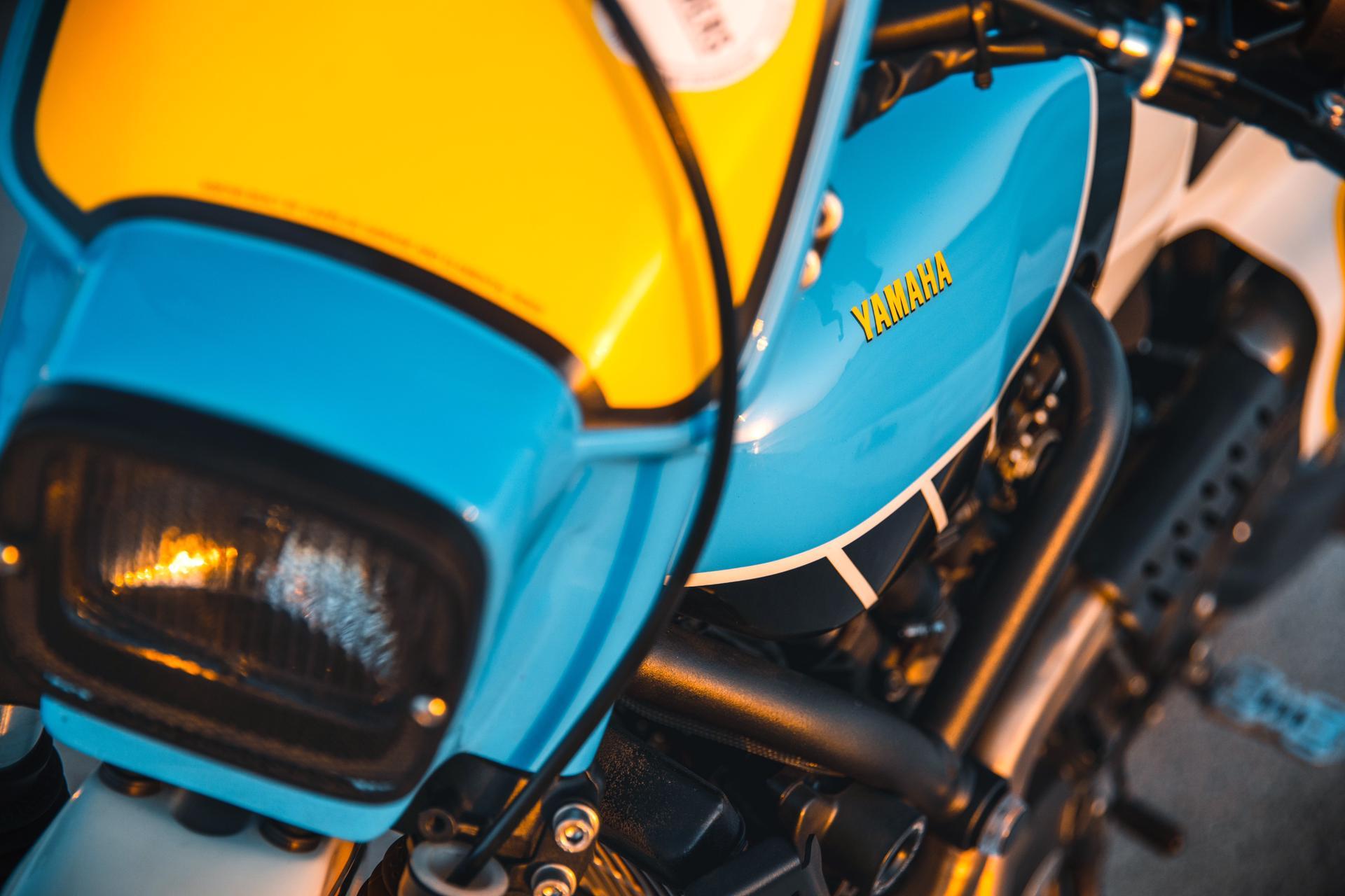 Yamaha XSR700 Scrambler