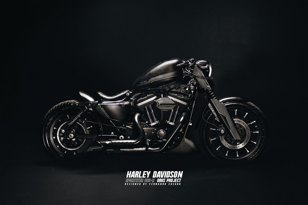 Sportster 883R Urus Project