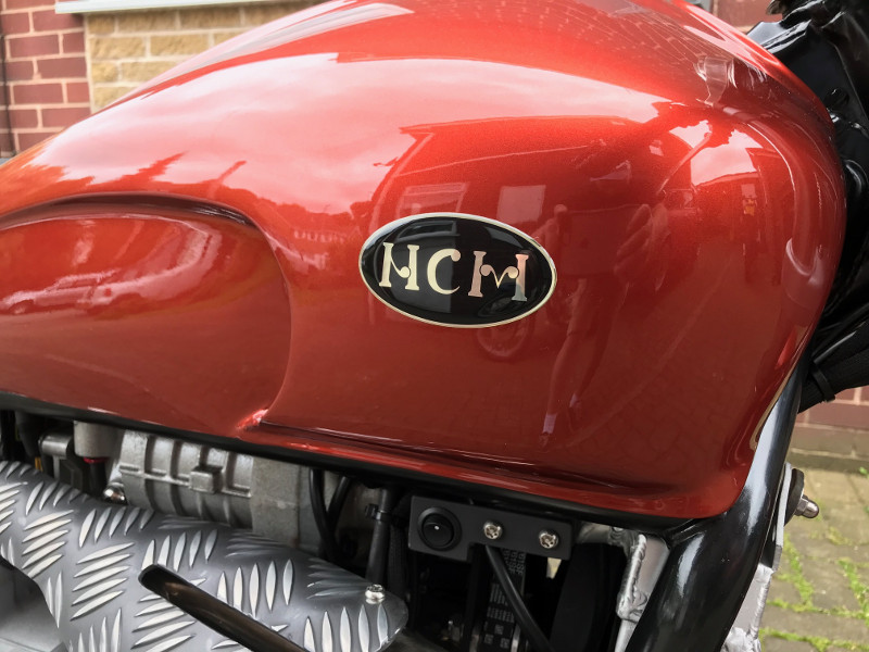 Supercharged Goldwing Cafe Racer