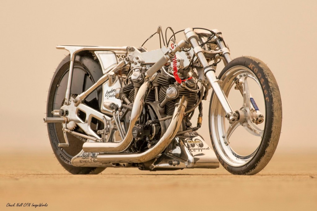 Vincent Land Speed Racing Motorcycle