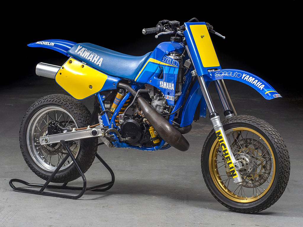 Yamaha YZ535 Supermoto