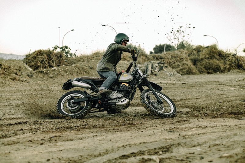 Suzuki DR650 Scrambler