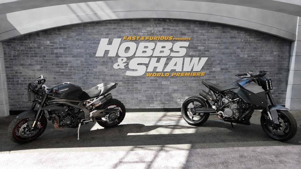 Hobbes & Shaw Motorcycle