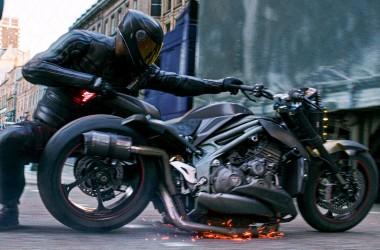 Hobbes & Shaw Motorcycle