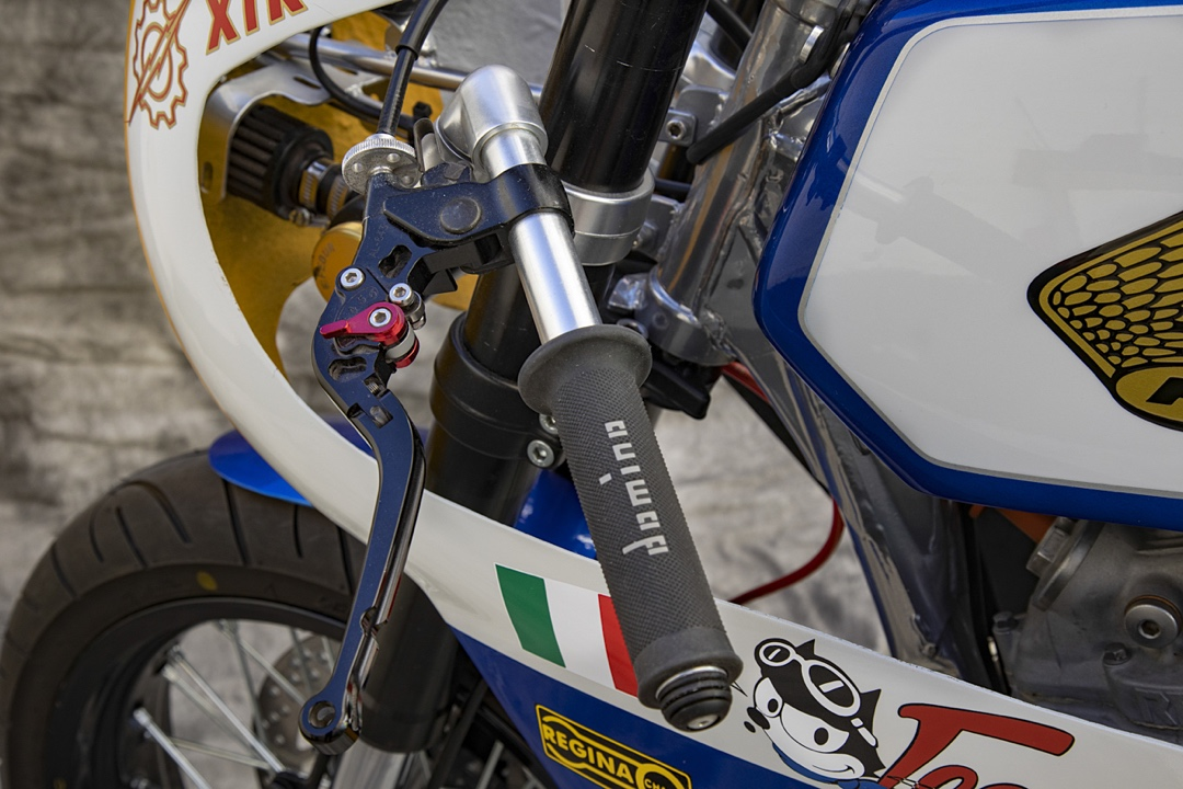 Honda XBR500 Cafe Racer