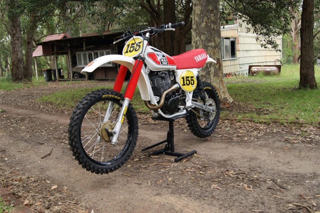 Yamaha TT500 Restomod