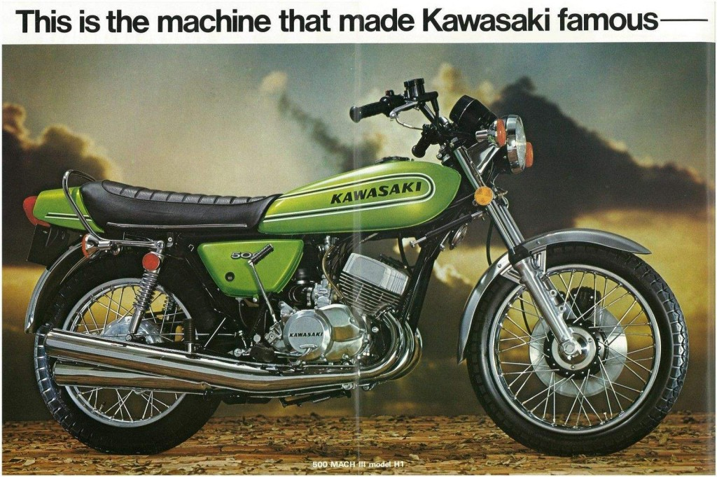 Kawasaki H1 Land Speed Racer