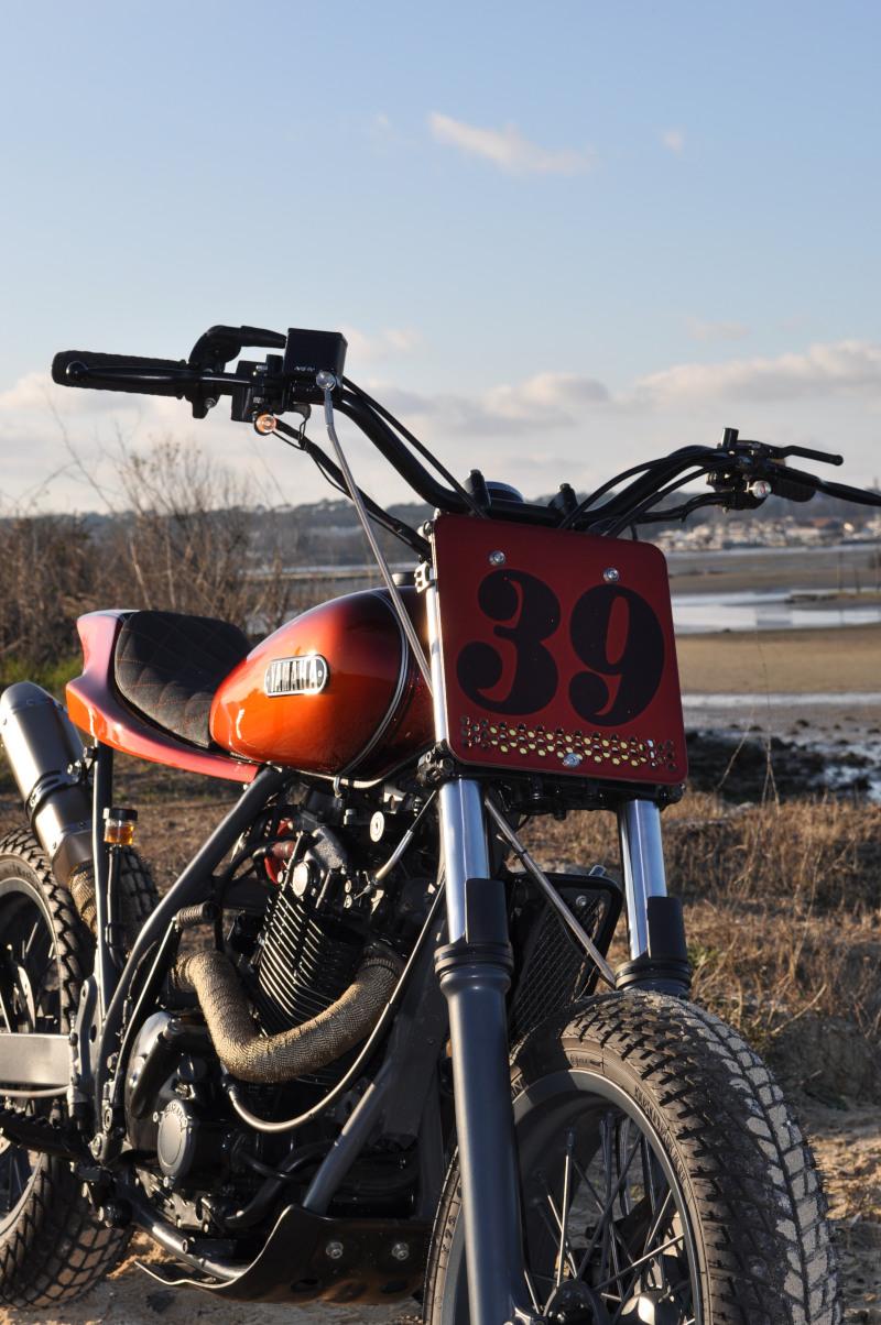 Suzuki DR650 Street Tracker