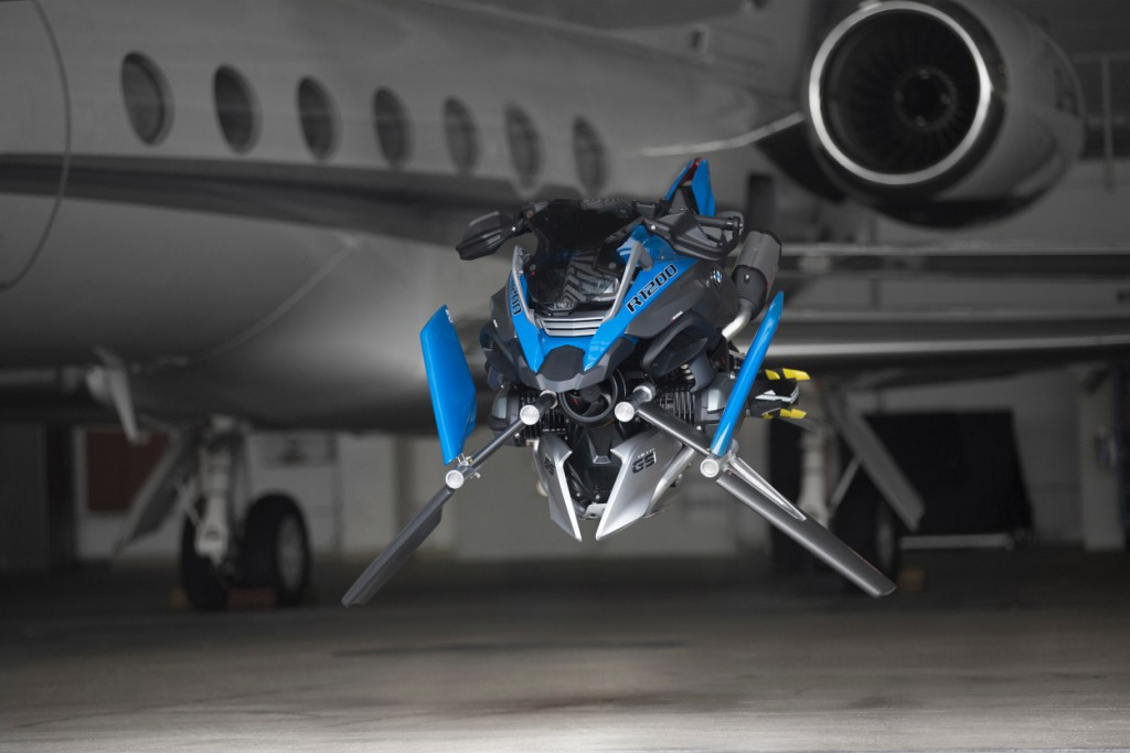 BMW R1200GS Hover Bike