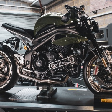 Supercharged Triumph Speed Triple