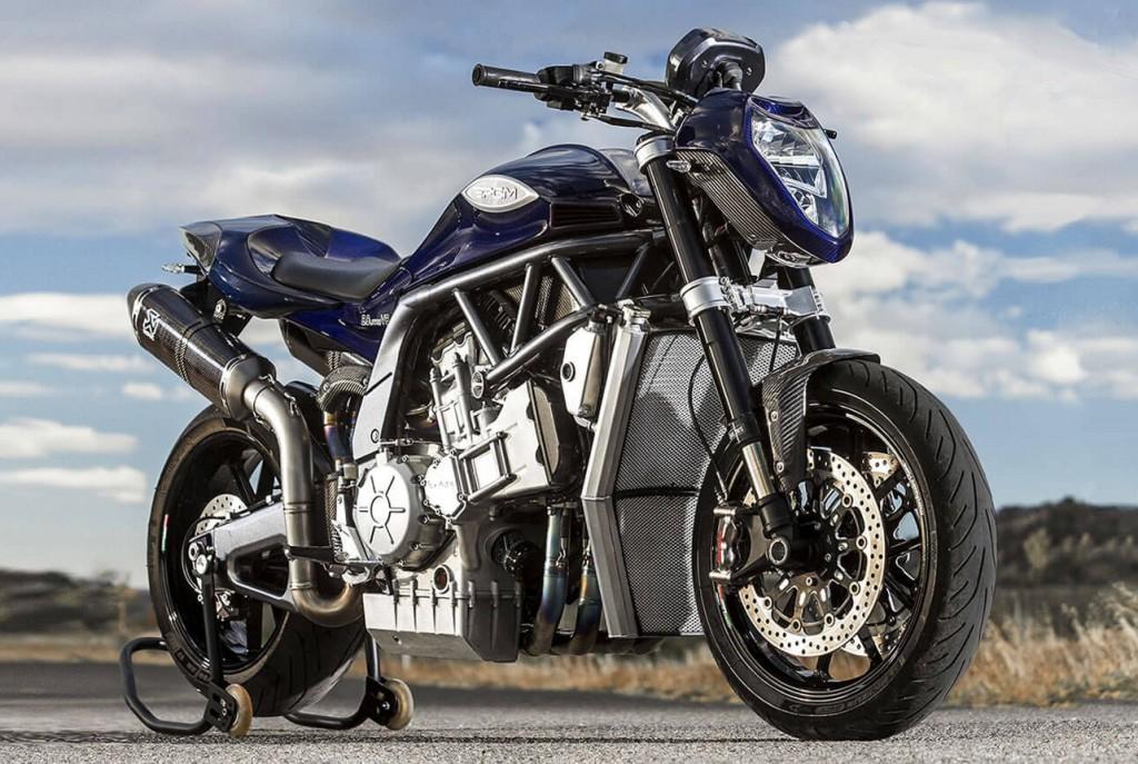 PGM V8 Motorcycle