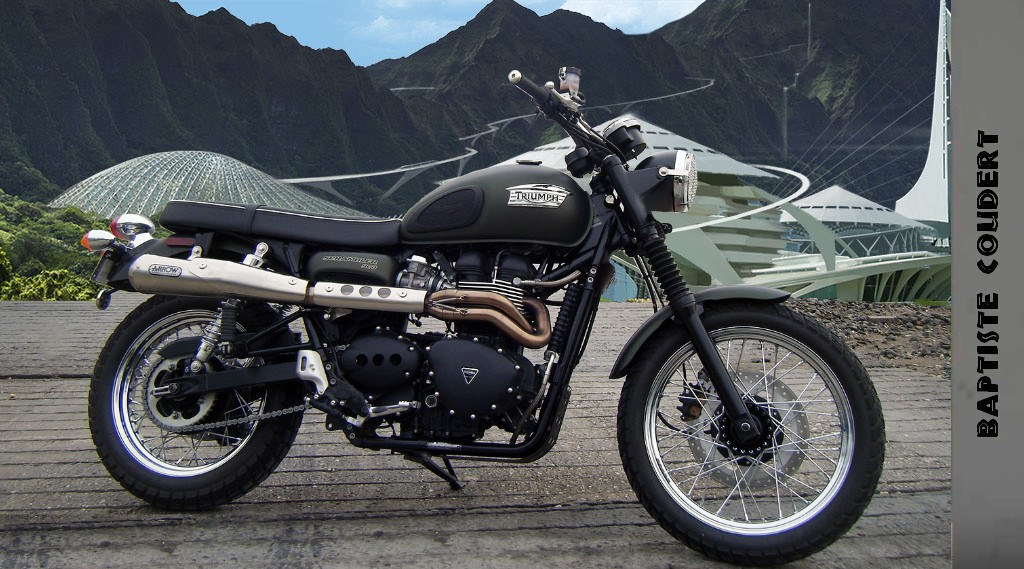 Motorcycle in Jurassic World