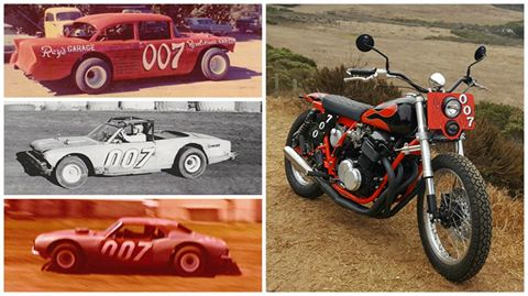Evolution of the 007 Racers