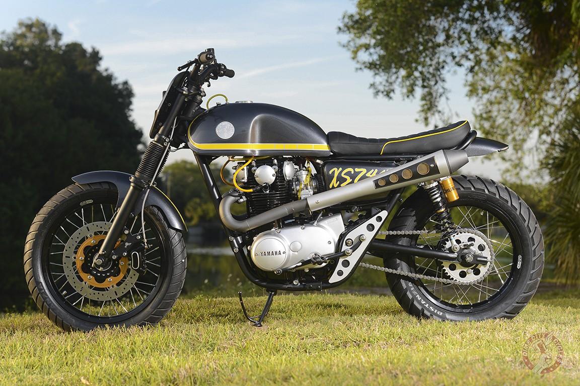 XS650 Scrambler by Dime City Cycles