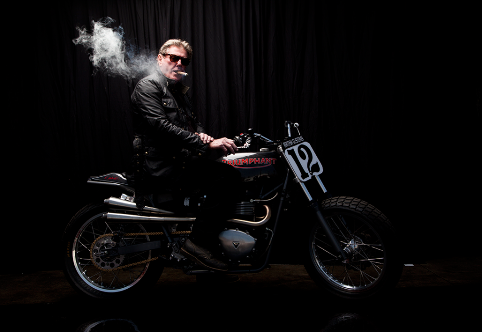 Eddie Mulder's Triumph Bonneville