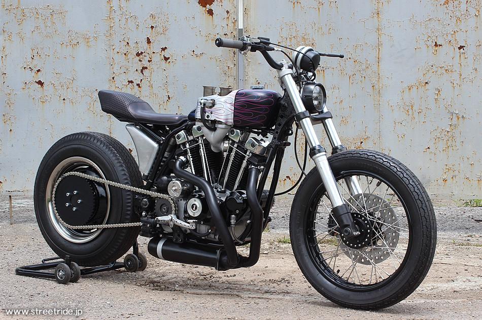 Harley Ironhead Sportster Tracker