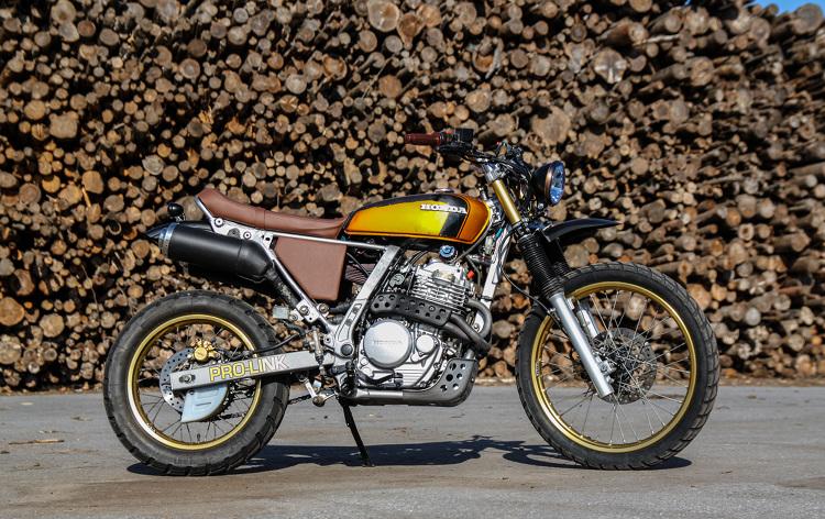 Honda NX650 Custom Scrambler