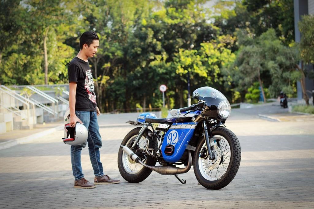 Yamaha RX Cafe Racer