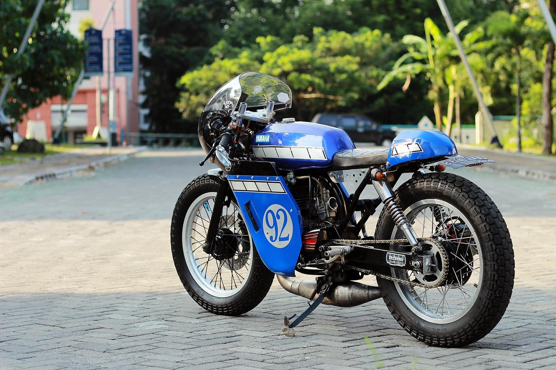 50 Modifikasi Motor Rx King Cafe Racer Gambar Mobil Dan Motor