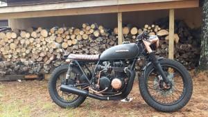 Honda CB500 Brat Bike