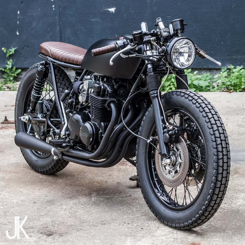 Honda CB550 Brat Bike