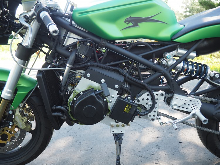 Arctic Cat-Powered Motorcycle