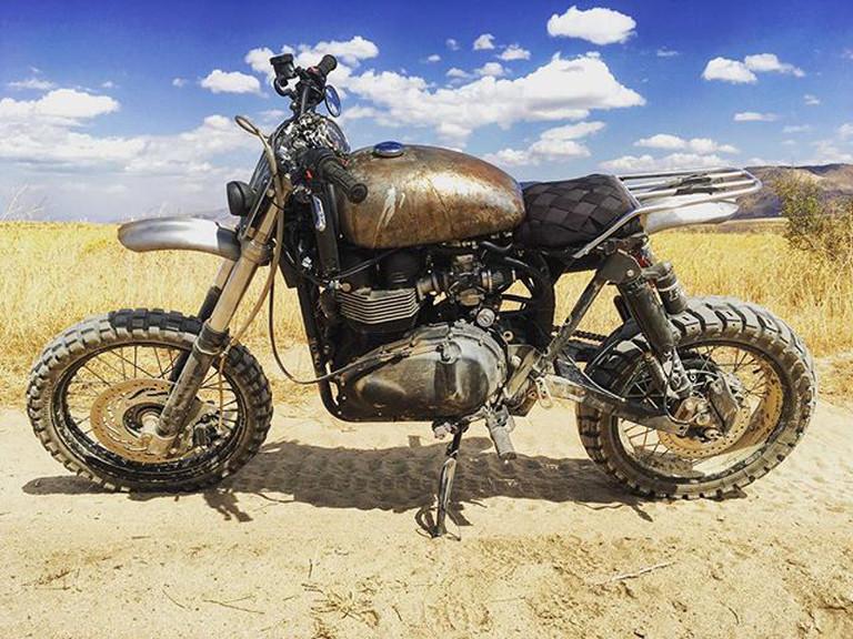 Triumph Scrambler Desert Sled