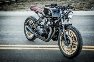 Honda CB750 Brat Tracker