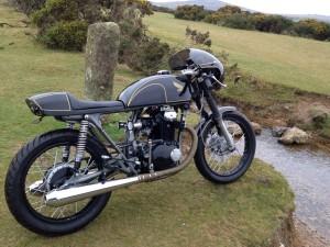 Honda CB250 K4 Cafe Racer