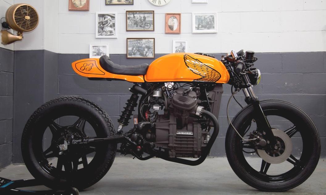 Estremamente Honda CX500 Cafe Racer by LV Custom – BikeBound DB02